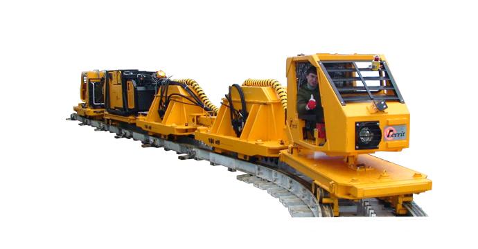 NZD600/900型齿轨卡轨机车